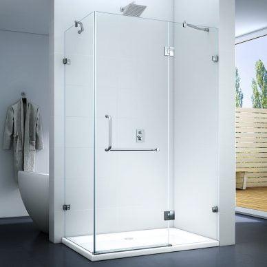 Kabina prysznicowa uchylna bez brodzika SWISS MEYER