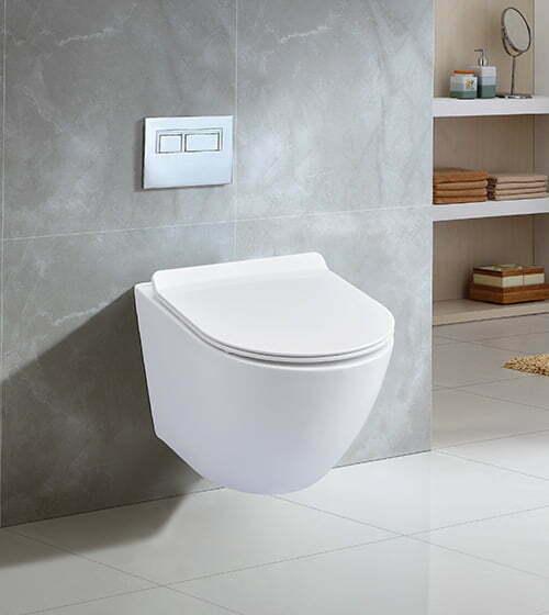 Misa wc podwieszana z deską SLIM