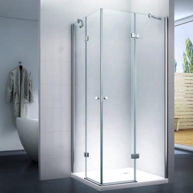 Kabina prysznicowa z drzwiami uchylnymi. uchylna kabina prysznicowa