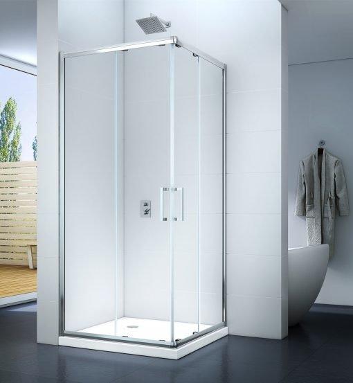 Kabina prysznicowa z podwójnymi drzwiami przesuwnymi MS 5000