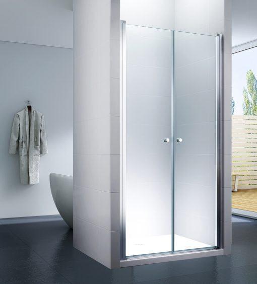 Podwójne drzwi prysznicowe