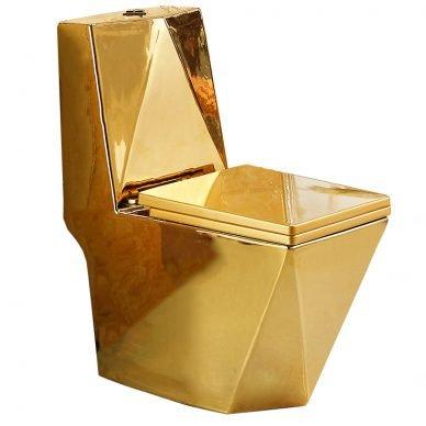 Wc kompakt złoty GOLD DIAMENT SWISS MEYER